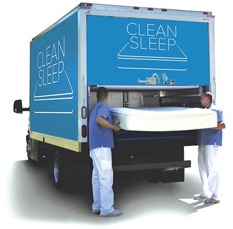 CleanSleep Truck