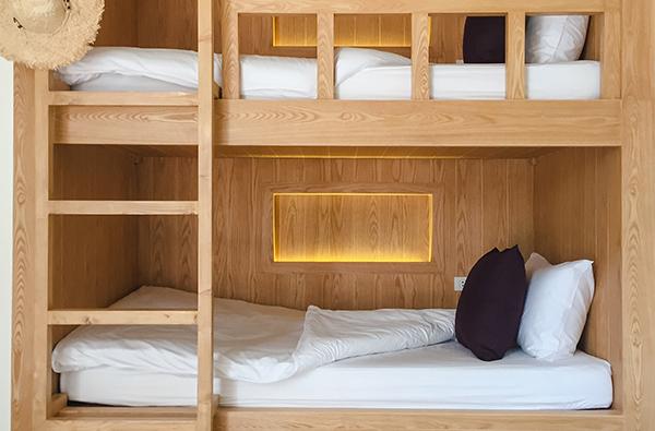 Dorm room beds